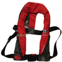 CREWSAVER CREWFIT 165N SPORT MANUAL INFLATABLE LIFEJACKET - RED (PFD583)