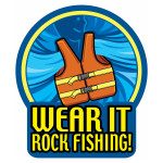 Rock Fishing also needs to Wear It!